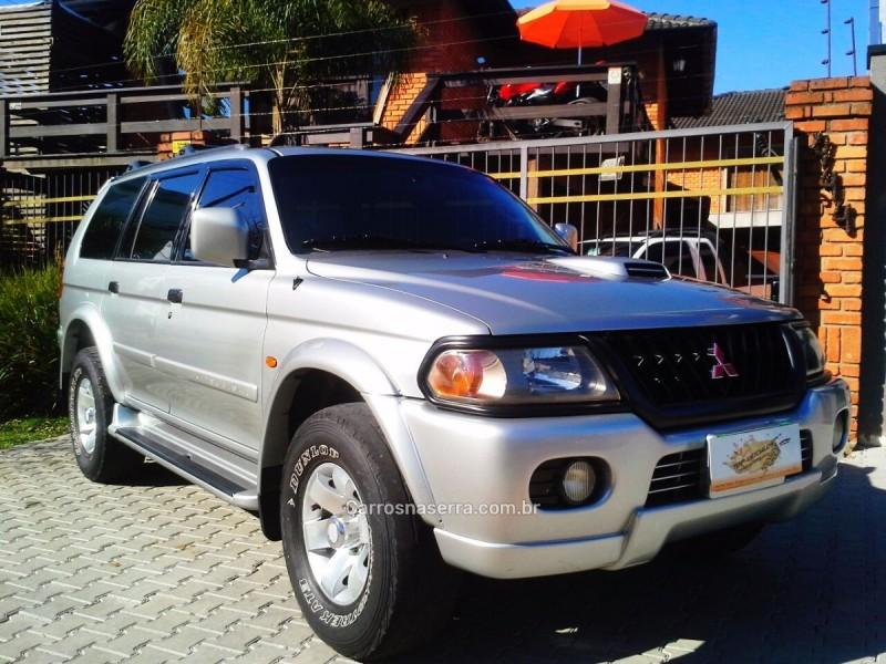 pajero sport 2.8 4x4 8v turbo intercooler diesel 4p automatico 2001 caxias do sul