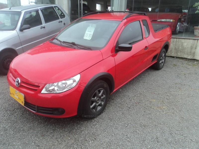 saveiro 1.6 mi ce 8v flex 2p manual g.v 2010 farroupilha