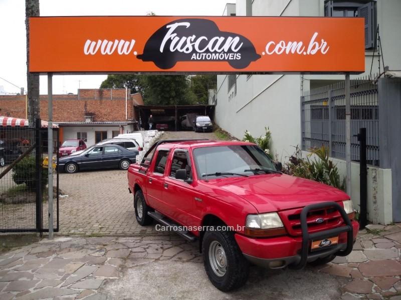 ranger 2.5 xl 4x2 cd 8v turbo intercooler diesel 4p manual 1998 caxias do sul