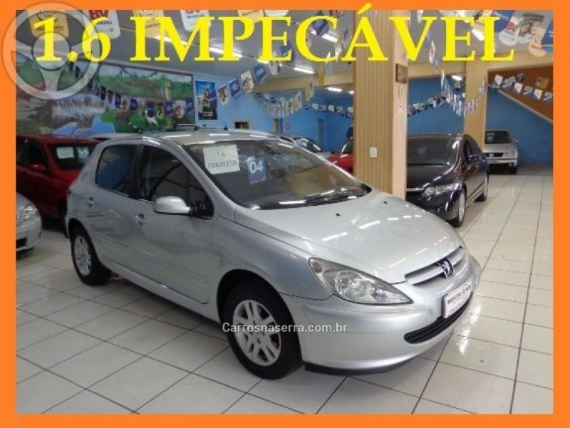 307 1.6 passion 16v gasolina 4p manual 2004 caxias do sul