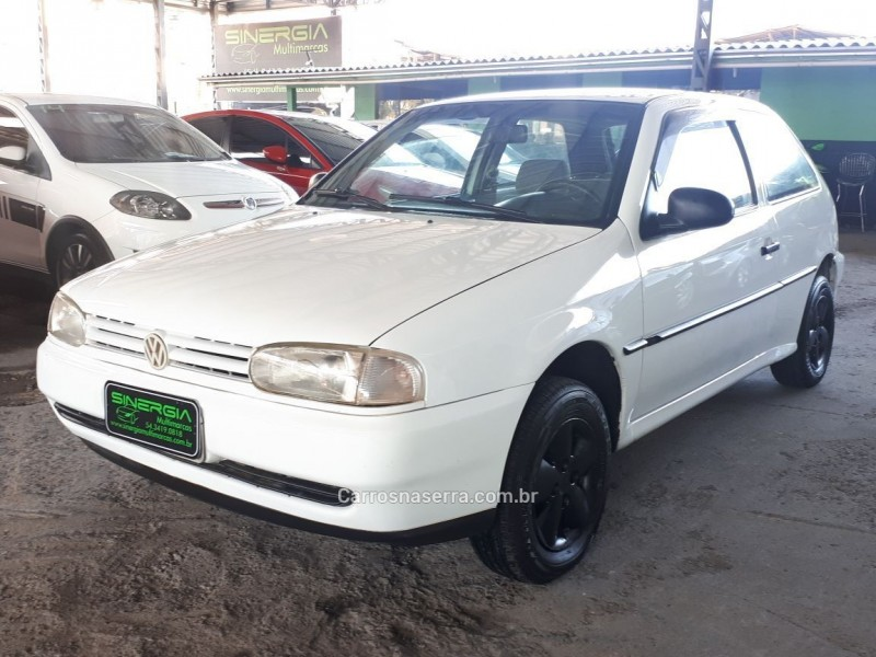 gol 1.6 mi cl 8v gasolina 2p manual 1997 caxias do sul