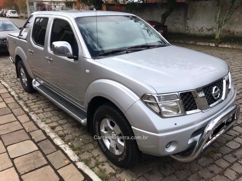 frontier 2.5 le 4x4 cd turbo eletronic diesel 4p automatico 2010 carlos barbosa