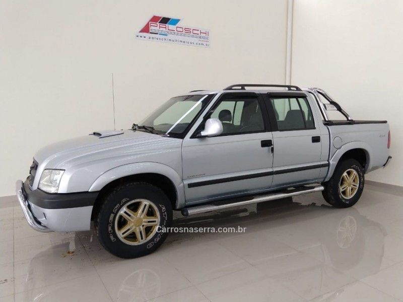 s10 2.8 executive 4x4 cd 12v turbo intercooler diesel 4p manual 2006 vacaria