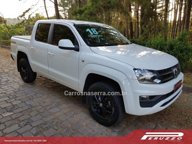 AMAROK 2.0 SE 4X4 CD 16V TURBO INTERCOOLER DIESEL 4P MANUAL - 2018 - NOVA PRATA
