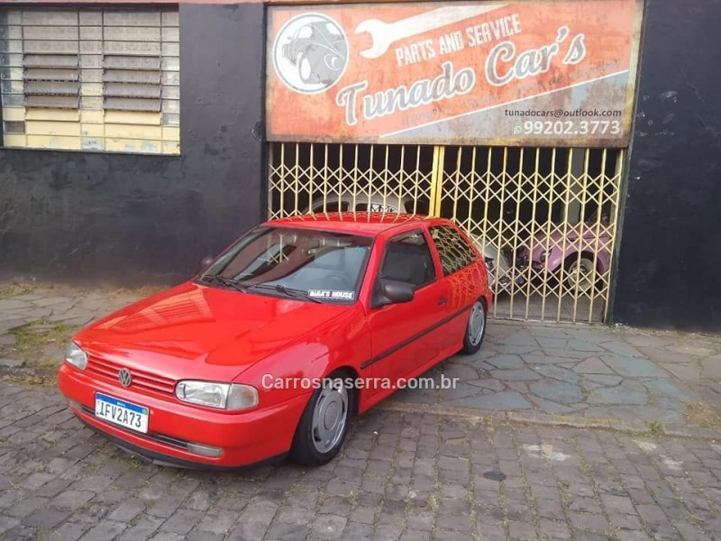 gol 1.6 cl 8v gasolina 2p manual 1996 caxias do sul