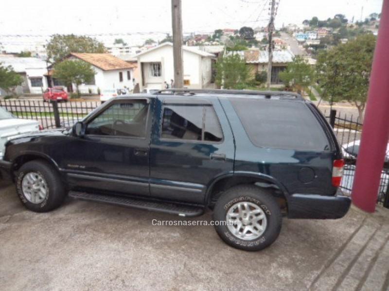 blazer 4.3 sfi dlx 4x2 v6 12v gasolina 4p manual 1999 veranopolis