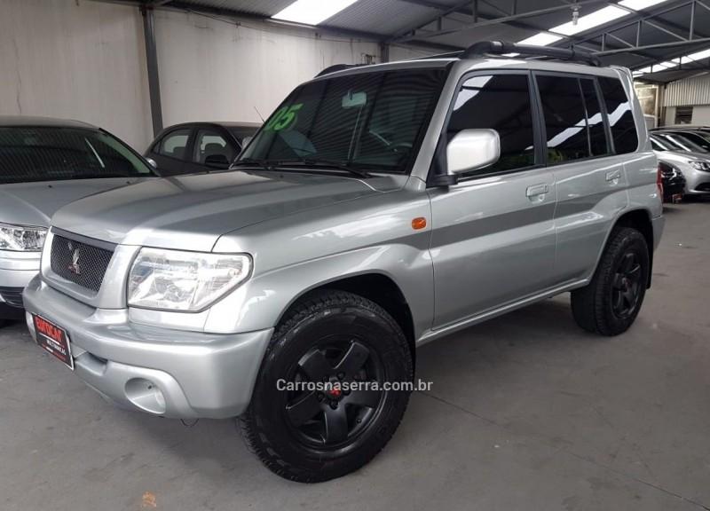 pajero tr4 2.0 4x4 16v 131cv gasolina 4p automatico 2005 caxias do sul