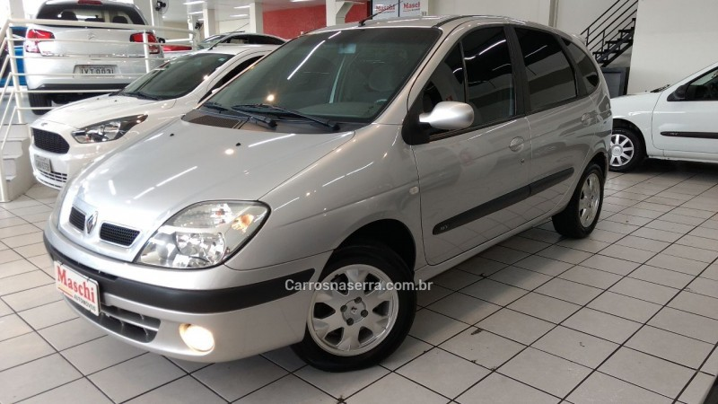 scenic 1.6 privilege 16v gasolina 4p manual 2010 caxias do sul