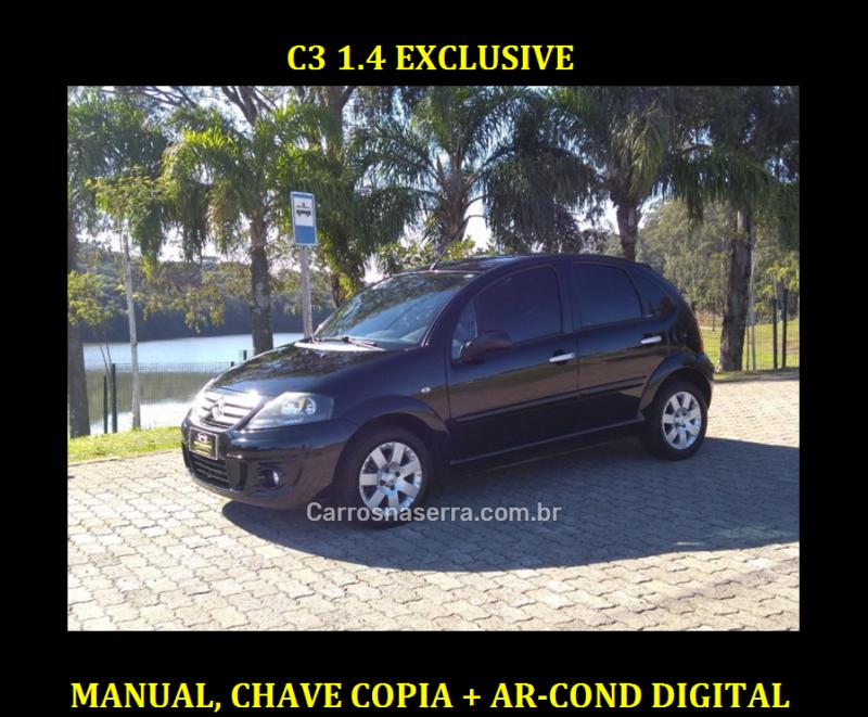 c3 1.4 i exclusive 8v flex 4p manual 2012 caxias do sul