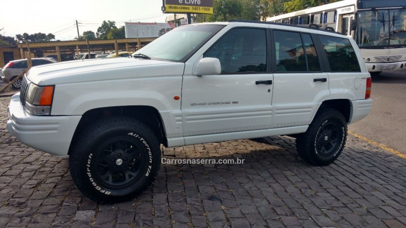 grand cherokee 5.2 limited 4x4 v8 16v gasolina 4p automatico 1997 farroupilha