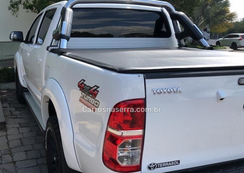 hilux 3.0 srv 4x4 cd 16v turbo intercooler diesel 4p automatico 2014 caxias do sul