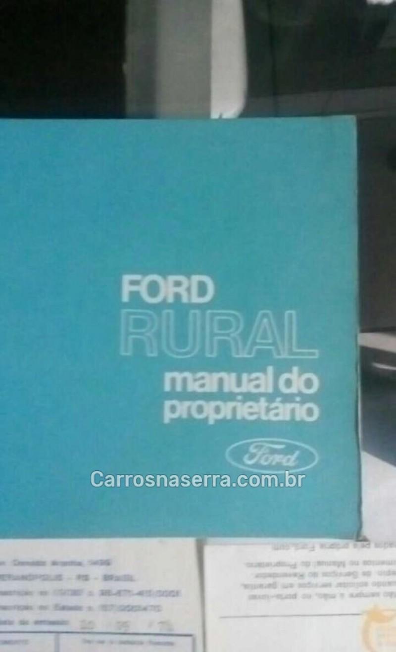 RURAL  - 1974 - GUAPORé