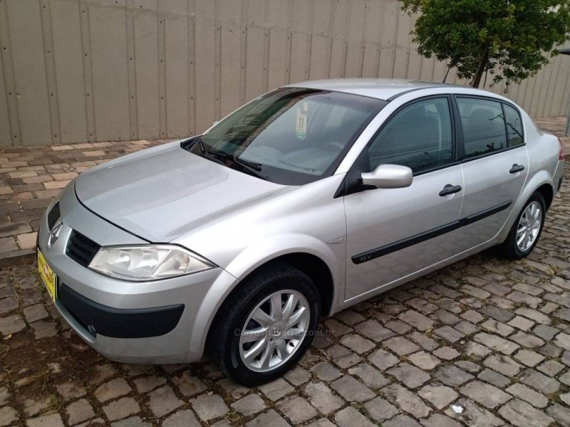 megane 1.6 expression 16v flex 4p manual 2011 caxias do sul