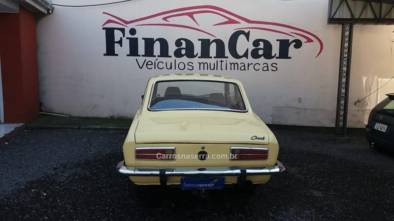 CORCEL 1.4 8V GASOLINA 2P MANUAL - 1977 - CAXIAS DO SUL