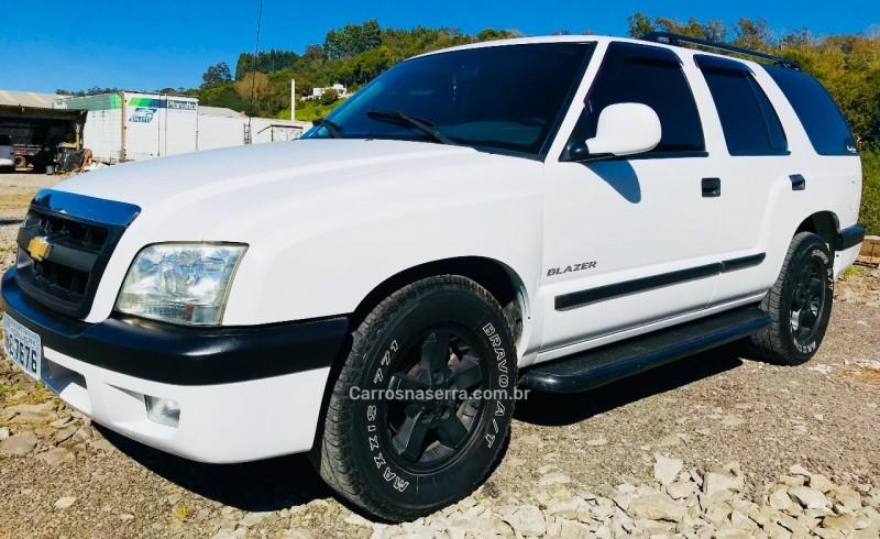 blazer 2.4 mpfi advantage 4x2 gasolina 4p manual 2007 guapore