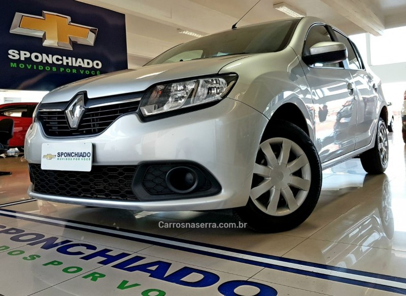 sandero 1.0 expression 16v flex 4p manual 2016 caxias do sul