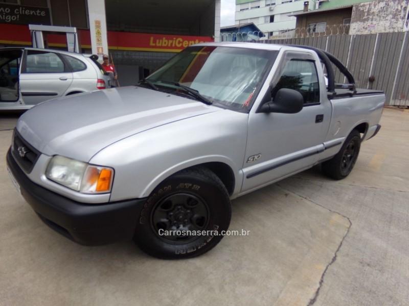s10 2.2 mpfi std 4x2 cs 8v gasolina 2p manual 1998 caxias do sul