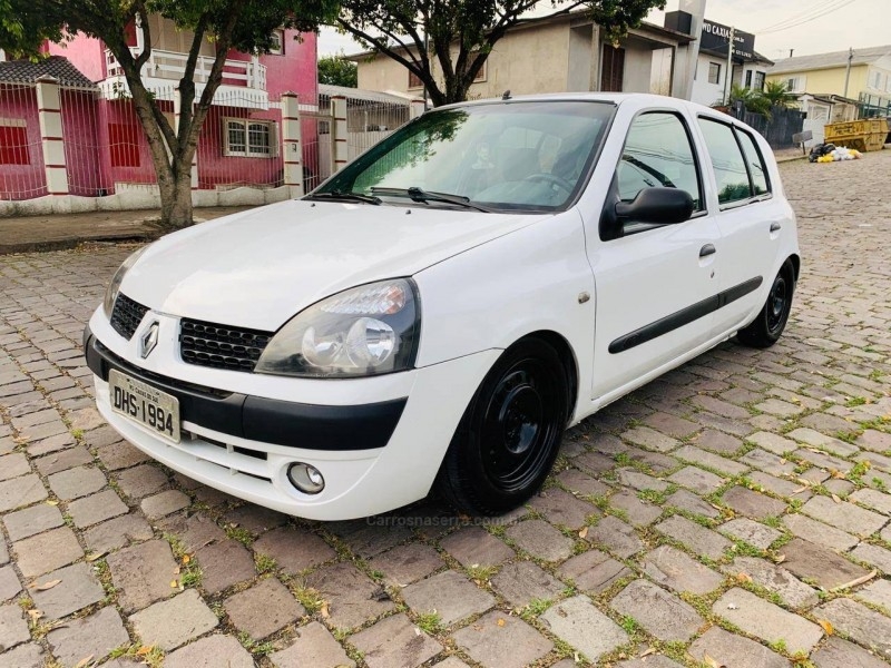 clio 1.0 authentique 8v gasolina 4p manual 2004 caxias do sul