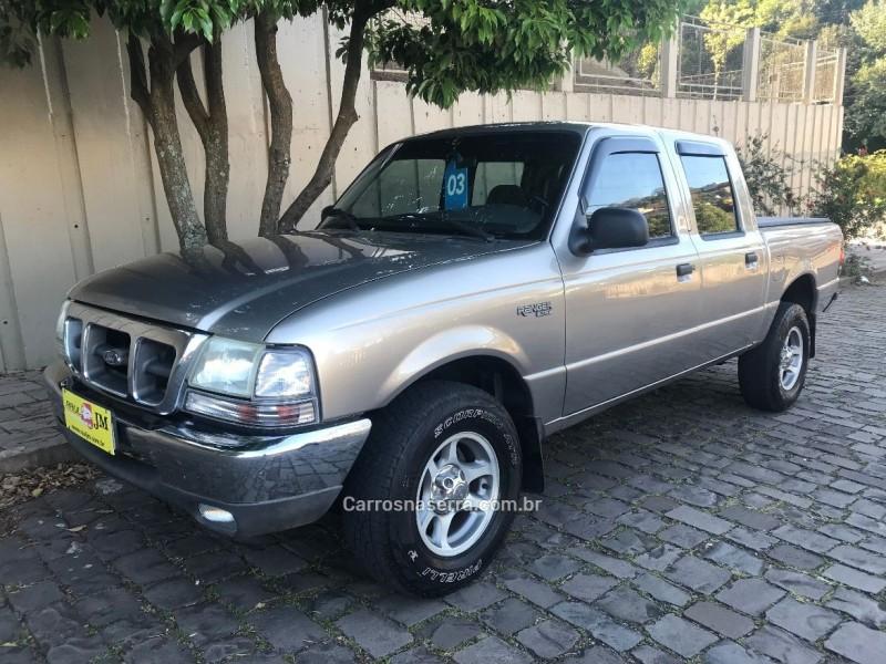 ranger 2.8 xlt 4x4 cd 8v turbo intercooler diesel 4p manual 2003 caxias do sul