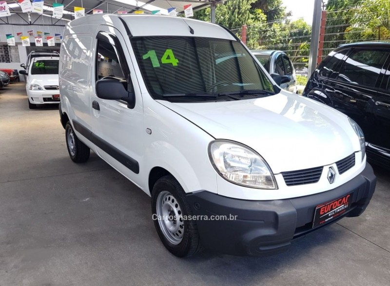 kangoo 1.6 authentique 16v gasolina 4p manual 2014 caxias do sul
