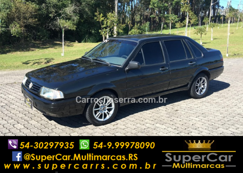 santana 2.0 gl 8v gasolina 4p manual 1994 caxias do sul
