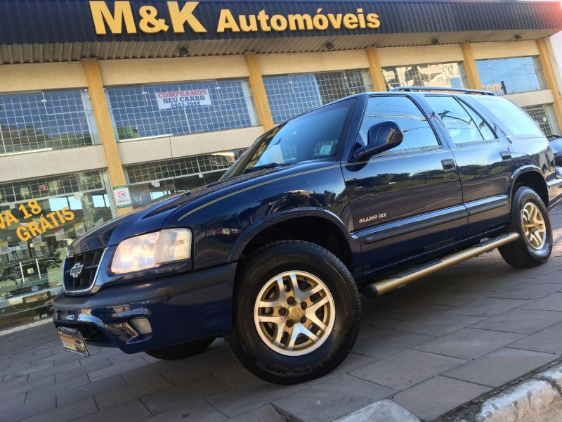 blazer 4.3 sfi dlx 4x2 v6 12v gasolina 4p manual 2000 caxias do sul
