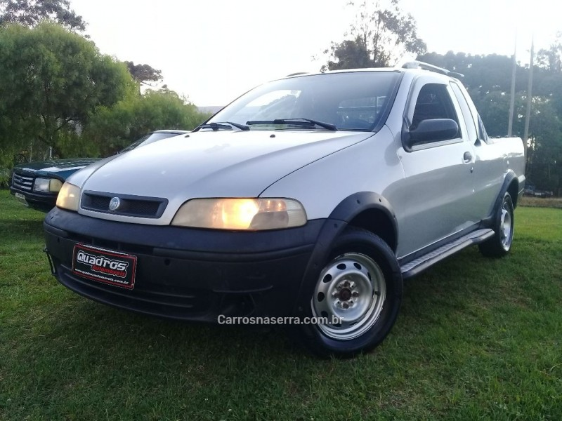 strada 1.8 mpi adventure ce 8v gasolina 2p manual 2003 caxias do sul