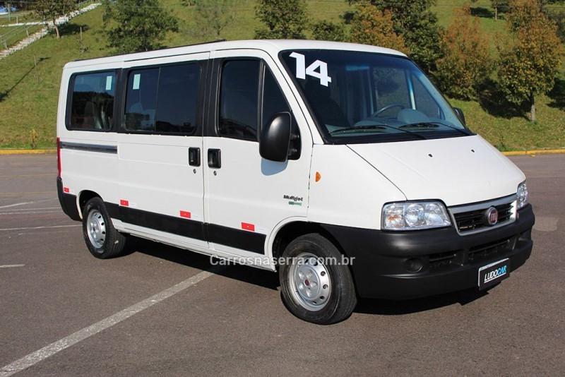 ducato 2.3 minibus 16 lugares 16v turbo intercooler diesel manual 2014 caxias do sul