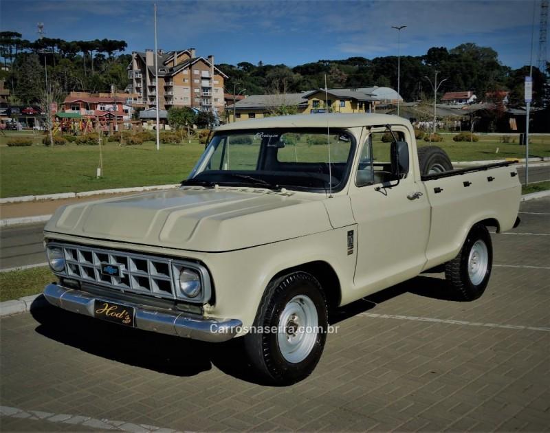 d10 4.0 custom s cs 8v diesel 2p manual 1981 canela