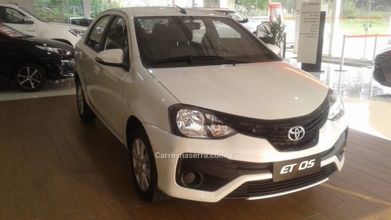 etios 1.5 x sedan 16v flex 4p automatico 2020 bento goncalves