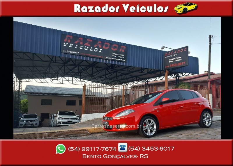 BRAVO 1.4 16V T-JET GASOLINA 4P MANUAL - 2012 - BENTO GONçALVES