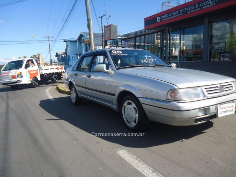 santana 1.8 cl 8v gasolina 4p manual 1995 caxias do sul