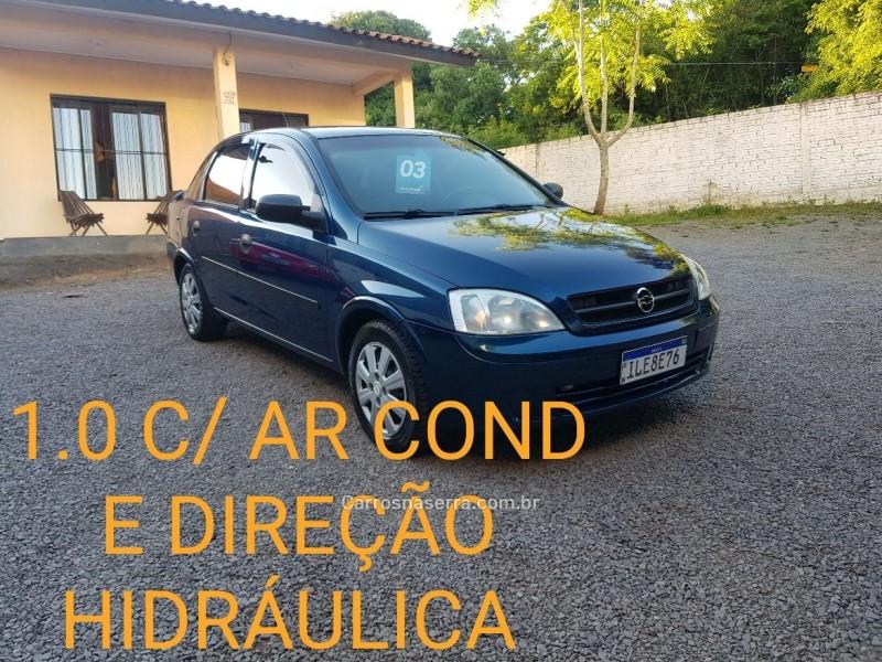 corsa 1.0 mpfi maxx 8v gasolina 4p manual 2003 caxias do sul