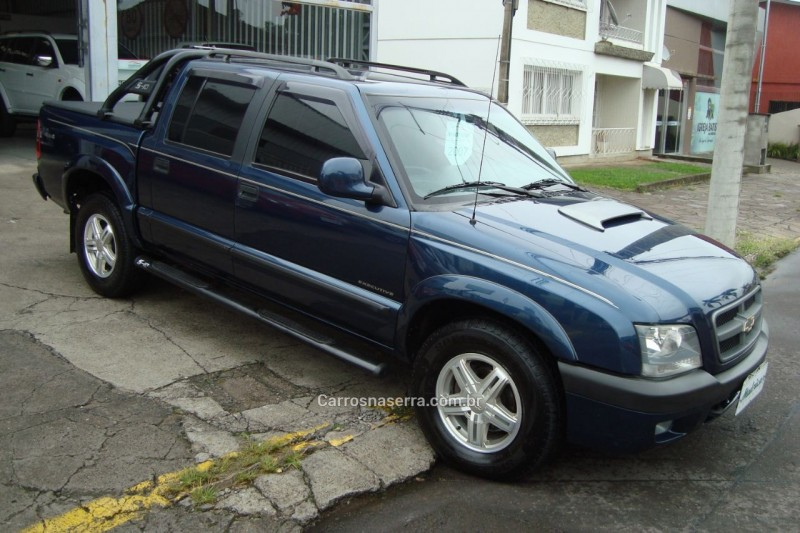 s10 2.8 executive 4x4 cd 12v turbo electronic intercooler diesel 4p manual 2007 flores da cunha