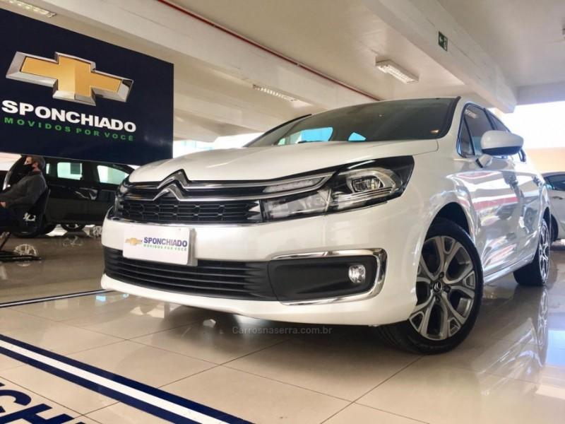c4 lounge 1.6 shine 16v turbo flex 4p automatico 2019 caxias do sul