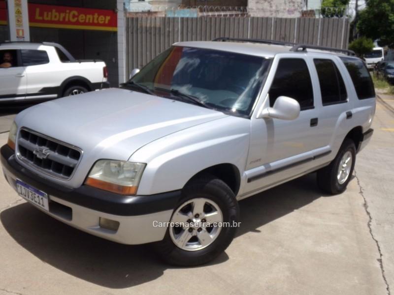 blazer 2.2 mpfi std 4x2 8v gasolina 4p manual 2001 caxias do sul