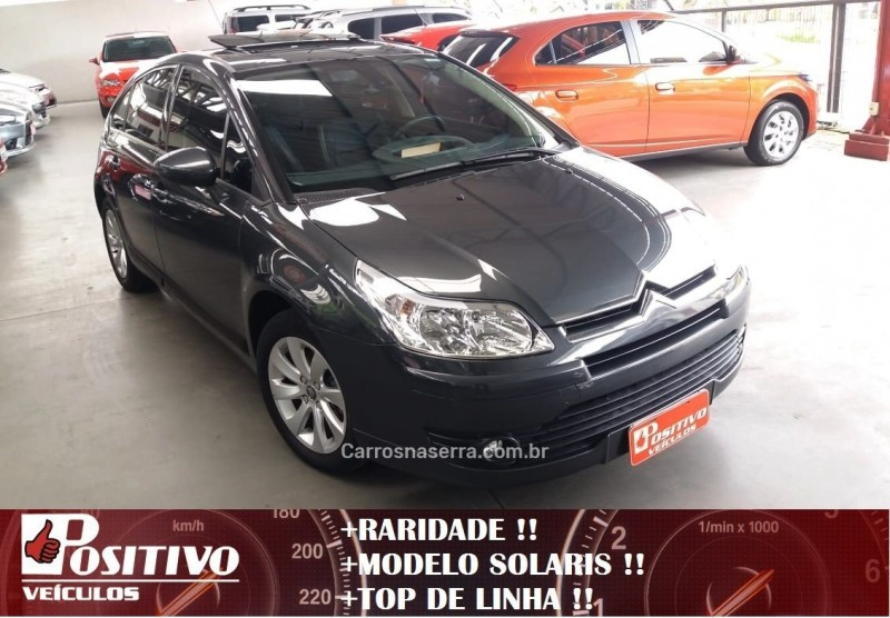 c4 2.0 exclusive sport solaris 16v flex 4p manual 2012 caxias do sul