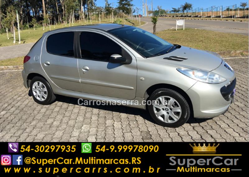 207 1.4 xr 8v flex 4p manual 2011 caxias do sul