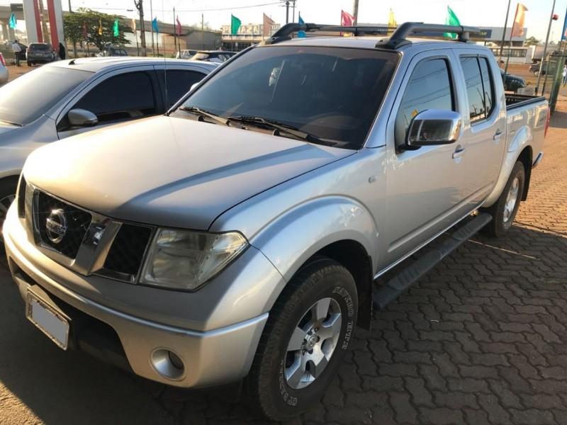 frontier 2.5 le 4x4 cd turbo eletronic diesel 4p automatico 2011 carlos barbosa