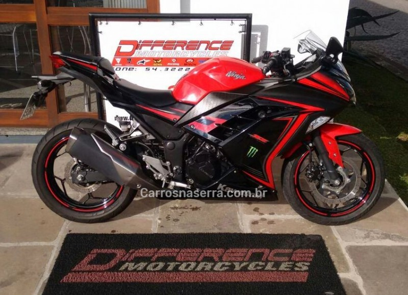 ninja 300 abs limited edition 2015 caxias do sul
