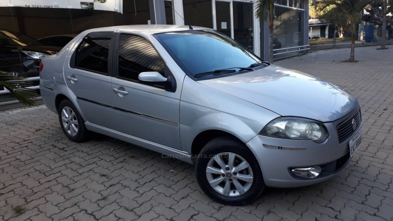 siena 1.4 mpi elx attractive 8v flex 4p manual 2008 nova prata