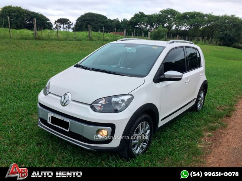 cross up 1.0 tsi 12v flex 4p manual 2017 bento goncalves