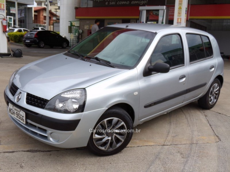 clio 1.0 authentique 8v gasolina 4p manual 2006 caxias do sul