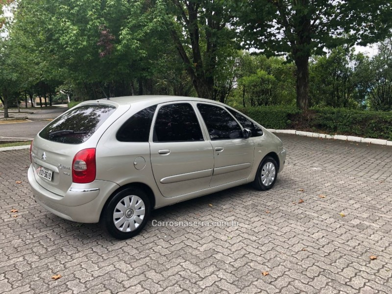 XSARA PICASSO 2.0 I EXCLUSIVE 16V GASOLINA 4P MANUAL - 2008 - CAXIAS DO SUL
