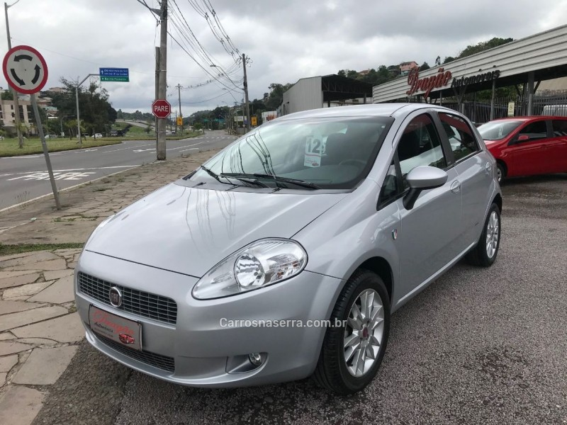 punto 1.6 essence 16v flex 4p manual 2012 caxias do sul