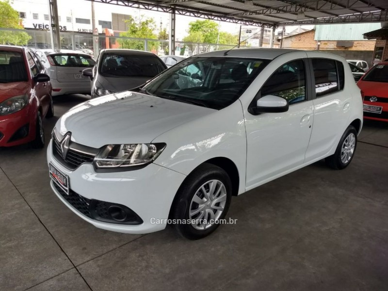 sandero 1.0 expression 16v flex 4p manual 2015 caxias do sul