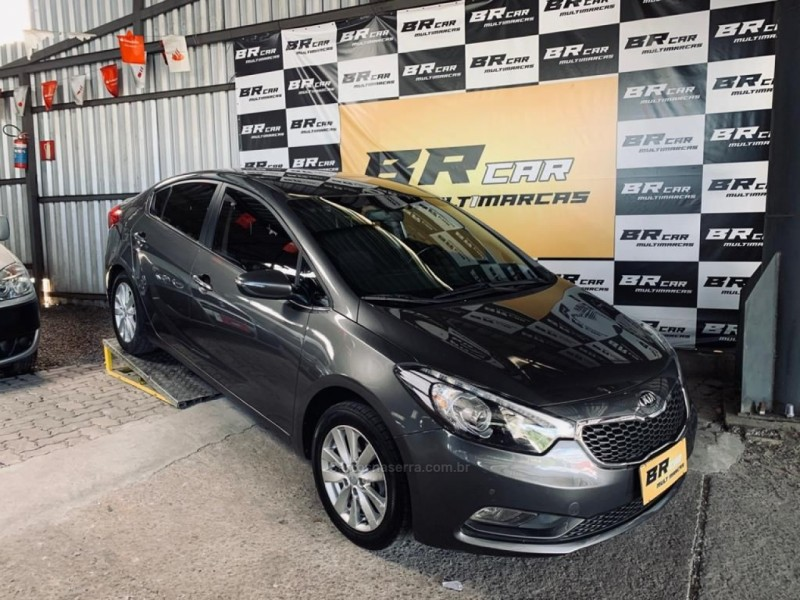 cerato 1.6 sx3 16v gasolina 4p manual 2014 caxias do sul