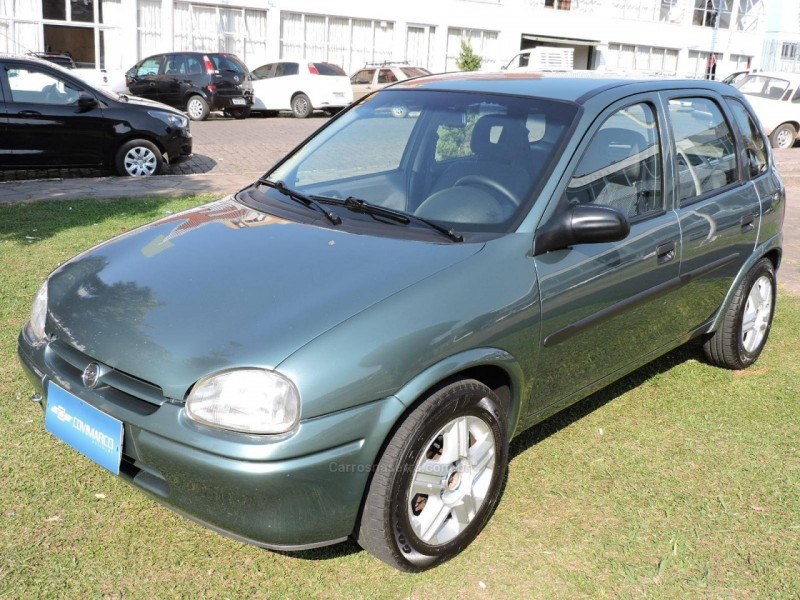 corsa 1.0 mpfi super 16v gasolina 4p manual 1999 sao marcos