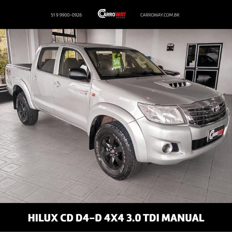 hilux 3.0 dx 4x4 cd 16v diesel 4p manual 2014 feliz