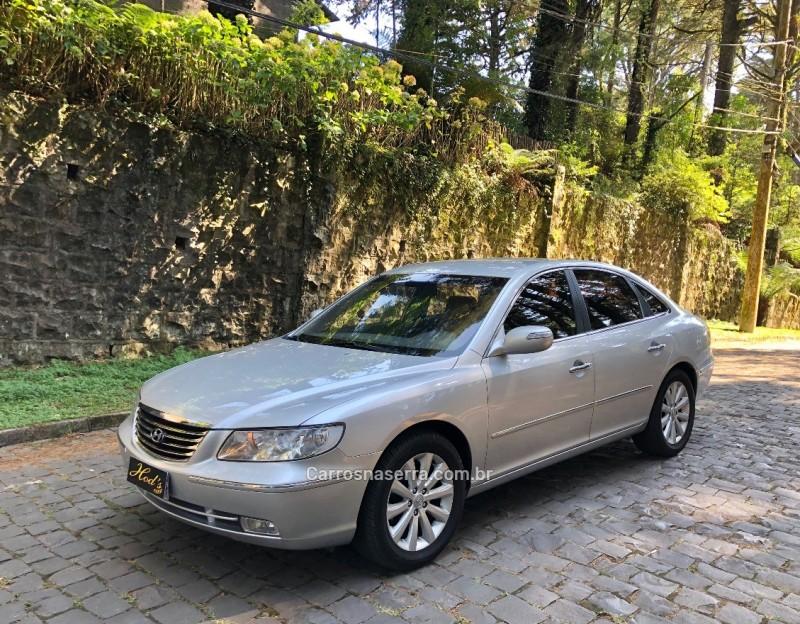 azera 3.3 mpfi gls sedan v6 24v gasolina 4p automatico 2010 canela